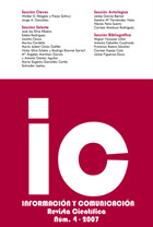 Ver Núm. 4 (2007): IC – Journal